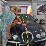 renowacja lakieru - Jaguar